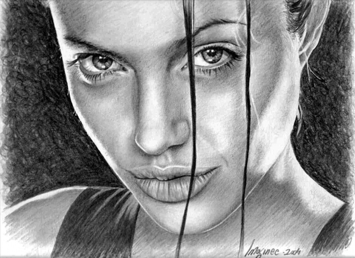 World Famous Pencil Drawings