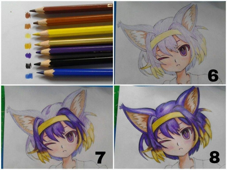 Incredible Anime Colored Pencil Courses Tutorial 1: Coloring Tutorial!!! (Colored Pencils) | Anime Amino Picture