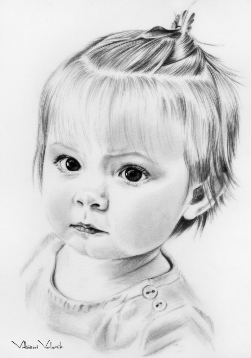 Incredible Baby Pencil Drawing Free Custom Baby Portrait, Pencil Drawing From Your Photo, Sketch, Portraits By  Commission, Original Artwork, Realistic, Free Digital Format Images