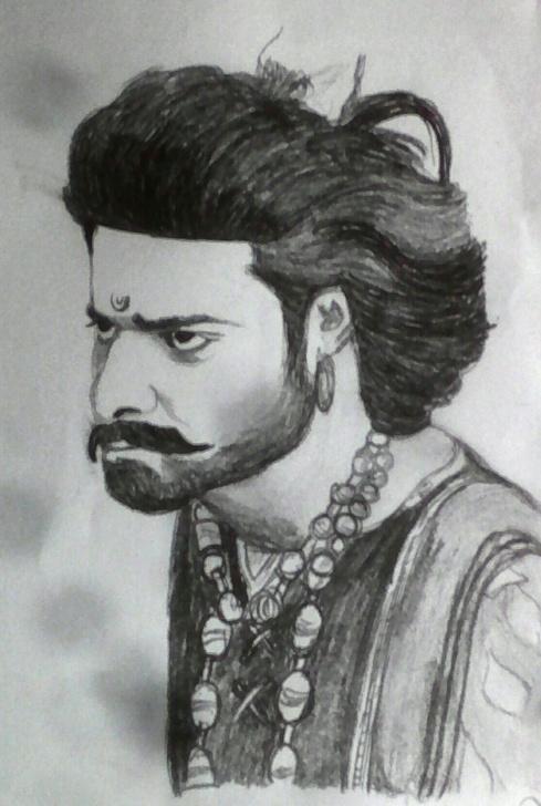 Incredible Bahubali 2 Pencil Sketch Easy Bahubali 2 Drawing | Bahubali 2 In 2019 | Drawings, Sketches, Art Image