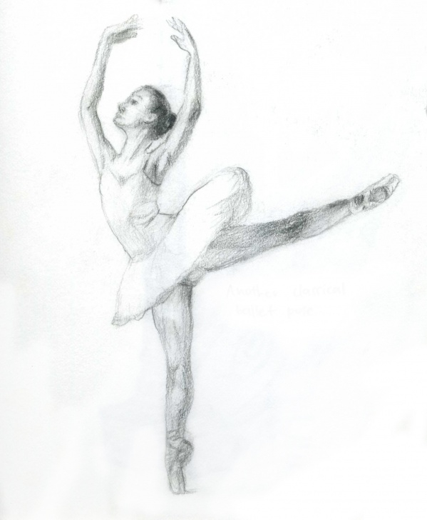 Incredible Ballerina Pencil Drawing Courses Ballerina Pencil Sketch At Paintingvalley | Explore Collection Pictures