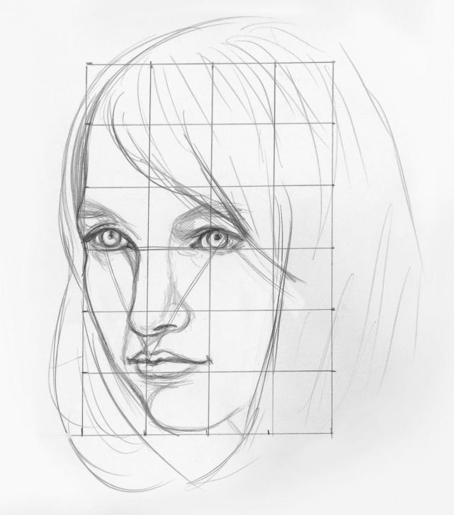 Incredible Basic Portrait Drawing Free Portrait Drawing Tutorial At Paintingvalley | Explore Collection Photo