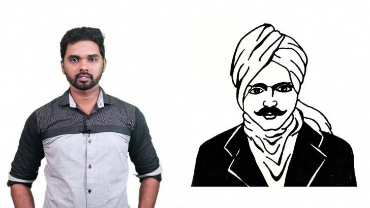 Incredible Bharathiyar Pencil Drawing Free How To Draw Bharathiyar Drawing For Kids Step By Step For Kids | Subramania  Bharati Drawing Photo