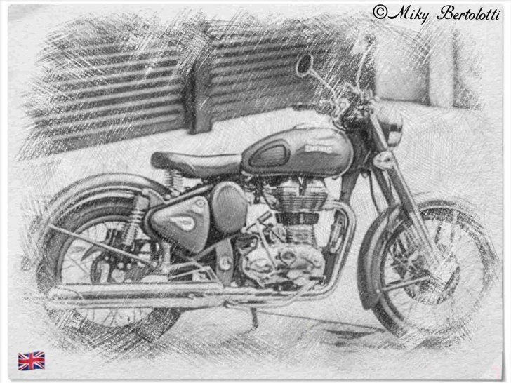 Incredible Bike Pencil Drawing Tutorials Bullet Bike Pencil Drawing Pics