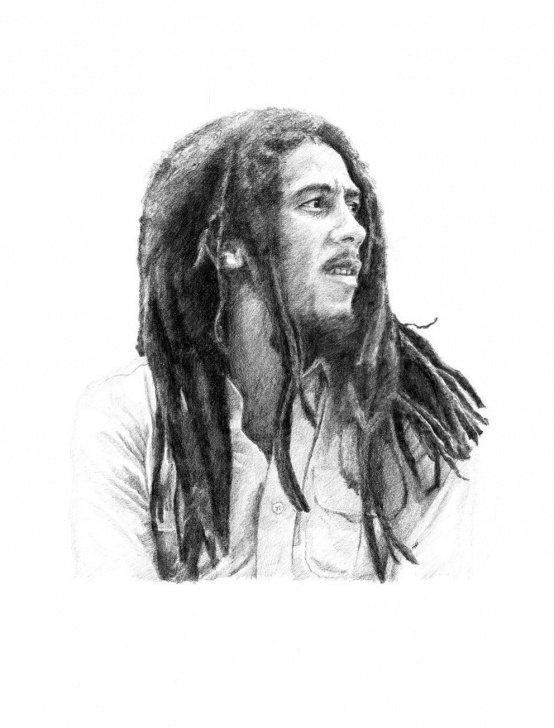 Incredible Bob Marley Pencil Drawing Free Bob Marley Pencil Drawing In 2019 | Bob Marley | Pencil Drawings Photo