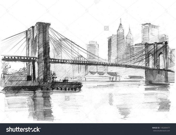 Incredible Bridge Pencil Drawing Techniques Amazing Bridge Pencil Sketch And Pencil Drawing Of A Landscape With Pics