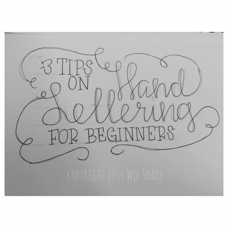 Incredible Calligraphy For Beginners With Pencil Ideas Pin By Zetapaddy On Lettering The Art | Hand Lettering For Beginners Image