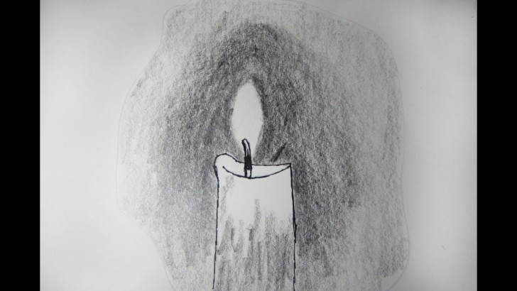 Incredible Candle Pencil Drawing Lessons How To Draw And Sketch A Realistic Candle Using Pencil - Sketching Pictures