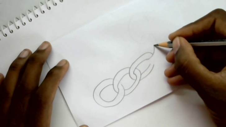 Incredible Chain Pencil Drawing Courses 026 How To Draw Chain For Kids Step By Step Pencil Drawing Photos