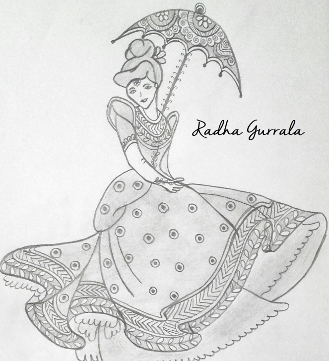 Incredible Cinderella Pencil Drawing Step by Step Pencil Sketch Of Disney Princess Cinderella With Indian Touch By Pictures