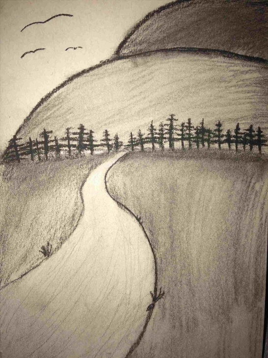 Incredible Easy Charcoal Drawings Lessons Easy Charcoal Drawings For Beginners Images