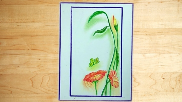 Incredible Easy Colour Pencil Drawing Step by Step Cool Easy Drawing - Color Pencil Drawing A Beautiful Picture Photo