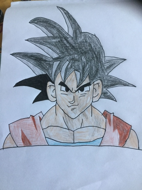 Incredible Easy Goku Drawings In Pencil Free Easy Goku Drawing Pencil | Art Drawings | Goku Drawing, Pencil Pictures