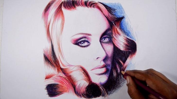 Incredible Faber Castell Polychromos Drawing Techniques for Beginners Drawing Adele -- Faber Castell Polychromos Pencils Pictures
