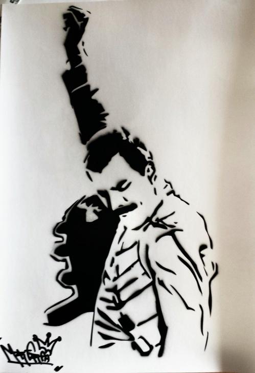 Incredible Freddie Mercury Stencil Art Lessons Freddie Mercury Stencil - Google Search | Stamps | Freddie Mercury Pic