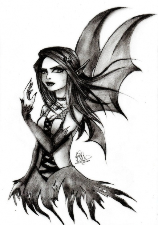 Incredible Gothic Pencil Drawings Step by Step Gothic Drawings | Gothic Fairy By Soeraven Traditional Art Drawings Photo