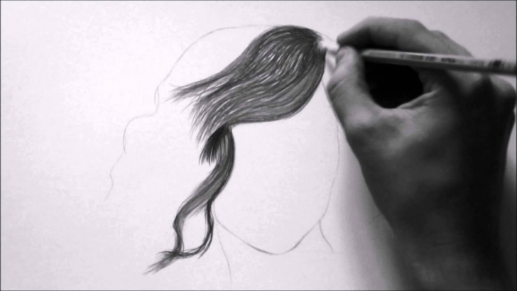 Incredible Hair Pencil Drawing Courses How To Draw Hair Realistic With Pencil Pics