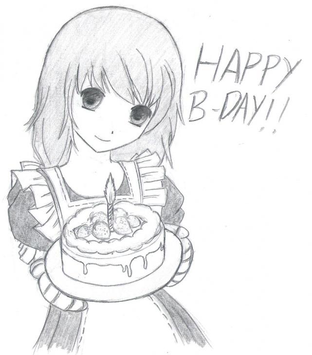 Incredible Happy Birthday Pencil Sketch Simple Free Happy Birthday Drawing, Download Free Clip Art, Free Clip Art Photos