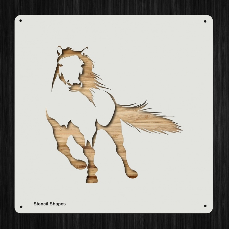 Incredible Horse Wall Stencils For Painting Free Horse Running Plastic Mylar Stencil Painting, Walls, Crafts, Signs, Large  Item 1386969 Image