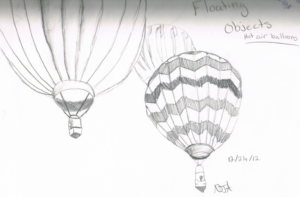 Incredible Hot Air Balloon Pencil Drawing Tutorial Hot Air Balloons - Pencil Drawing | Drawings | Hot Air Balloon, Air Pics