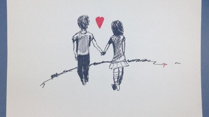 Incredible Love Cartoon Sketch Tutorials Love Cartoon # 2016 # Amazing Sketch Tutorial Pics
