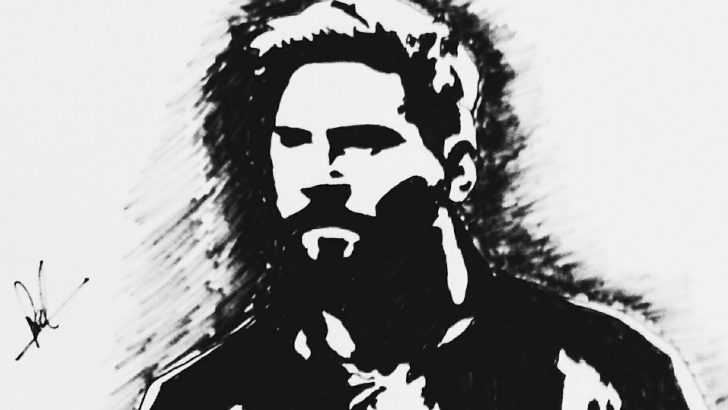 Incredible Messi Stencil Art Ideas Lionel Messi Up Side Down (Stencil Art ) Pics