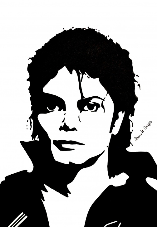 Incredible Michael Jackson Stencil Art Lessons Pinterest Pictures