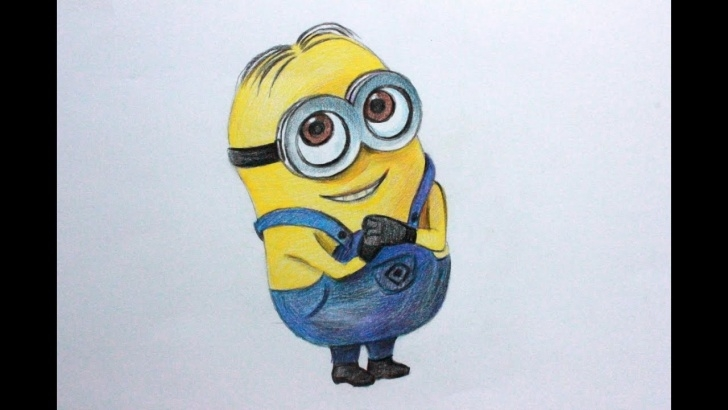 Incredible Minion Pencil Drawing Ideas Drawing Lessons.how To Draw A Minion From Despicable Me 1,2 Photos