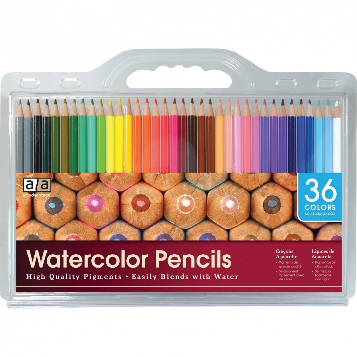 Incredible Pencil And Watercolor Art Tutorial Watercolor Pencil 36 Color Set | Art Advantage Photos