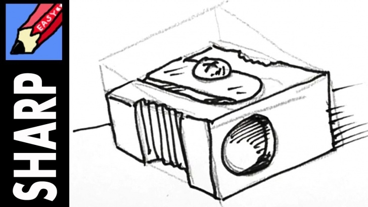 Incredible Pencil Sharpener Drawing for Beginners How To Draw A Pencil Sharpener Real Easy Pictures