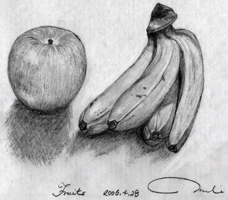 Incredible Pencil Sketch Of Fruits Free Pencil-Sketch Gallery: God's Gift ~ Fruits Photos