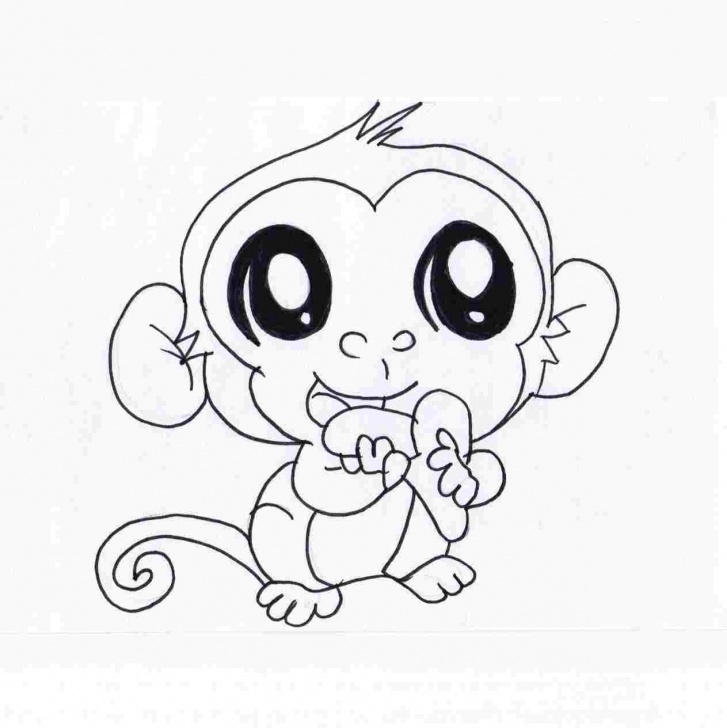 Incredible Pencil Sketch Of Monkey Ideas Rhdrawingslycom Pencil Cute Monkey Monkey Pencil Sketch Sketch Of Pictures