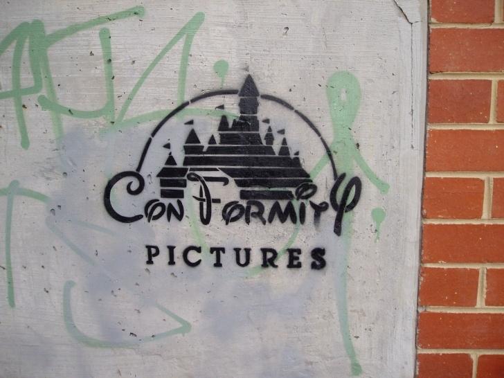 Political Stencil Art