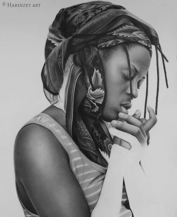 Incredible Realistic Pencil Art Step by Step Hyperrealistic Pencil Drawings By Nigerian Artist | Demilked Photo