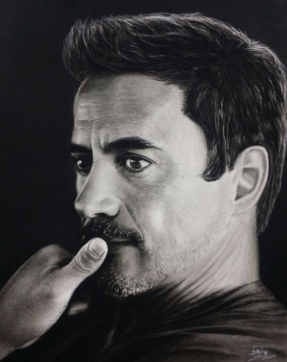 Incredible Robert Downey Jr Pencil Sketch Techniques for Beginners Pencil Drawing. Robert Downey Jr. - Album On Imgur Pictures