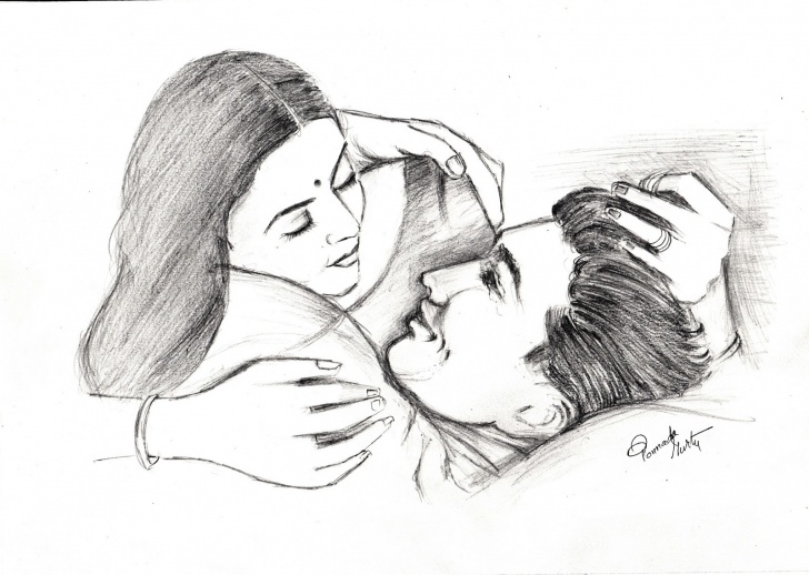 Incredible Romantic Couple Sketch Simple Romantic Paintings Search Result At Paintingvalley Pictures