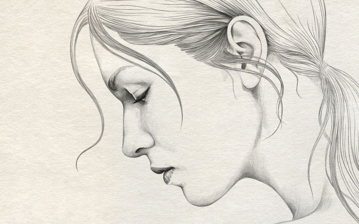 Incredible Scanning Pencil Drawings Easy Pencil Sketches | Sketches & Art | Pencil Drawings, Beautiful Pencil Image