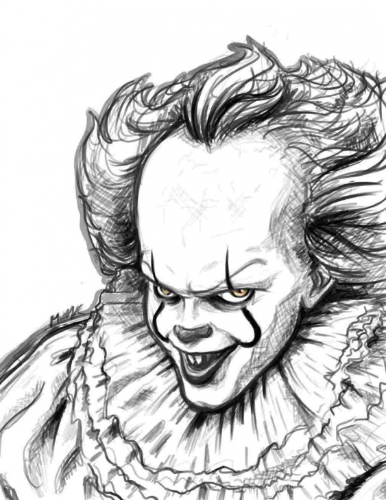 Incredible Scary Pencil Drawings Techniques for Beginners Scary Clown Drawings In Pencil - Gigantesdescalzos Photos