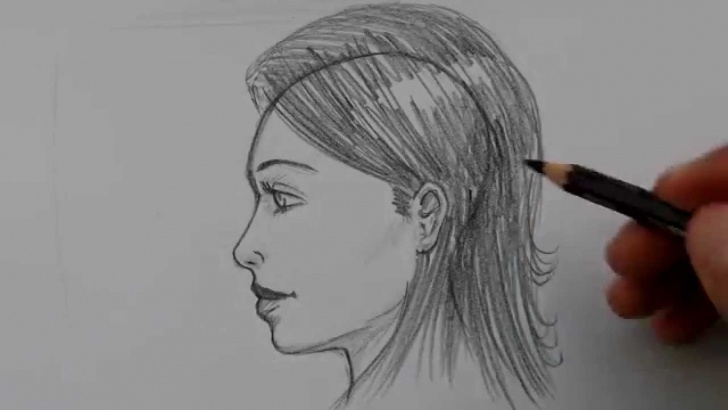 Incredible Side Portrait Drawing Tutorial Super Easy Way To Draw Faces From The Side! Pic