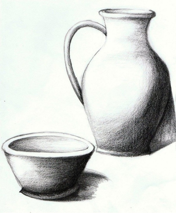 Incredible Simple Still Life Drawing Step by Step Simple And Creative Tips: Vases Ideas Kids Vases Ideas Centerpiece Pics