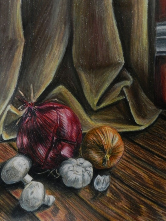 Incredible Still Life Drawing In Colour Pencil Techniques Colored Pencil Still Life By Vanillz.deviantart | Stuff For Photo