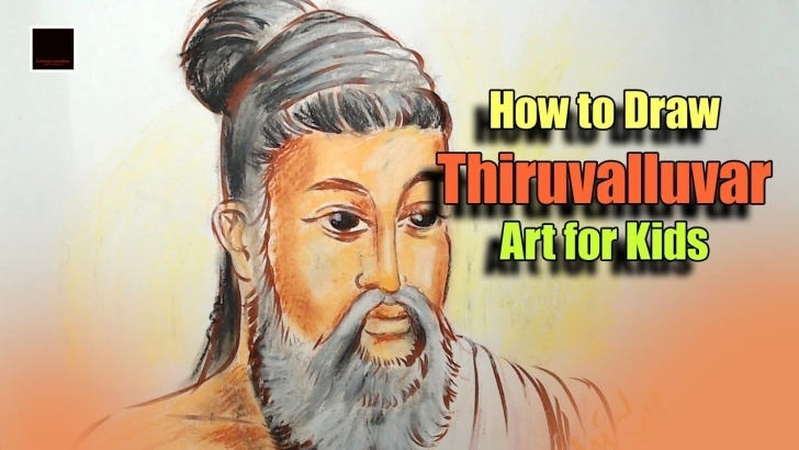 Incredible Thiruvalluvar Pencil Drawing Step by Step How To Draw Thiruvalluvar - Art For Kids Images