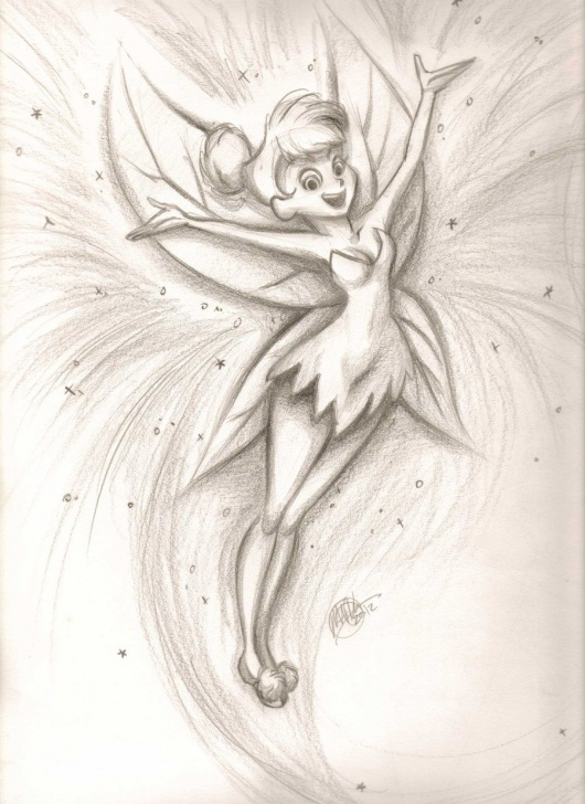 Incredible Tinkerbell Pencil Drawing Tutorials Peter Pan Tinkerbell | Pencil Drawing Of Tinkerbell Tinkerbell By Images