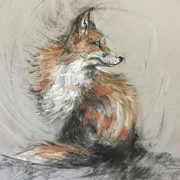 Incredible Tinted Charcoal Drawings Courses Lindsay Norman Artist Pics