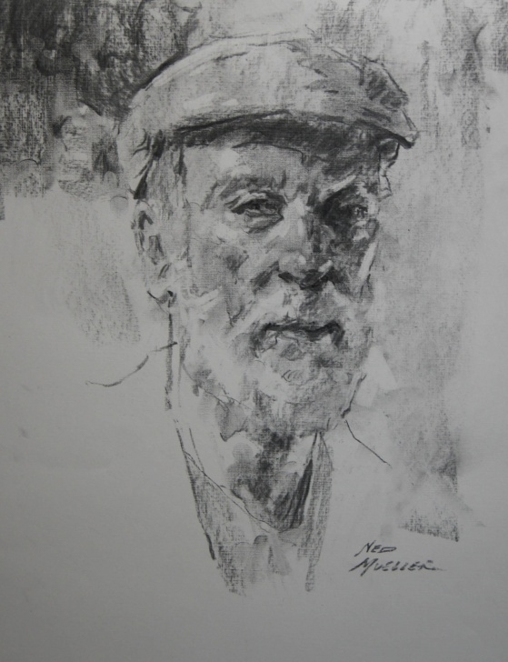 Incredible Vine Charcoal Drawing Ideas A Reecent Portrait Drawing Done With A Soft Vine Charcoal Stick Picture