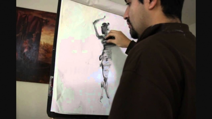 Incredible Vine Charcoal Drawing Techniques for Beginners 5 Minute Drawing Demo: Vine Charcoal Image