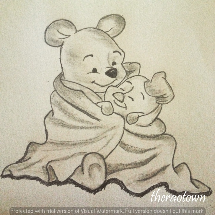 Incredible Winnie The Pooh Pencil Drawings Courses Winnie Pooh Sketch At Paintingvalley | Explore Collection Of Picture