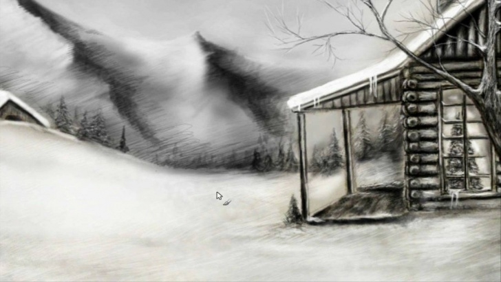 Incredible Winter Pencil Drawings Techniques Winter Landscape Speed Drawing Image