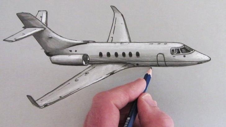 Inspiration Airplane Pencil Drawing Tutorials Ik Heb Dit Filmpje Gekozen Omdat Er Bij Dit Filmpje Per Stap Wordt Pictures
