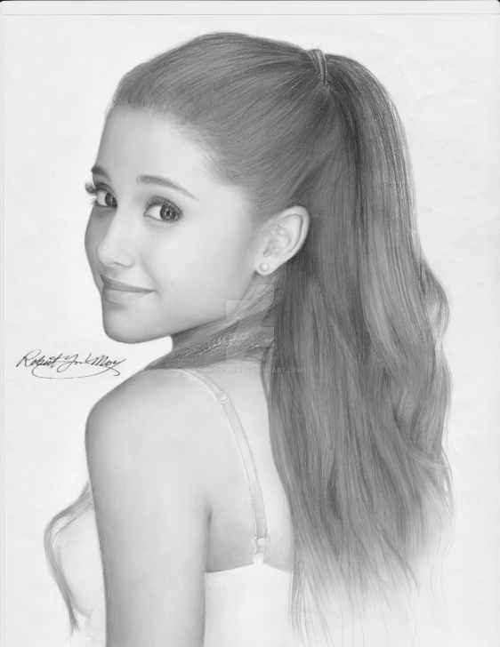 Inspiration Ariana Grande Pencil Sketch Simple Ariana Grande Sketch | Simple Love In 2019 | Ariana Grande Drawings Images